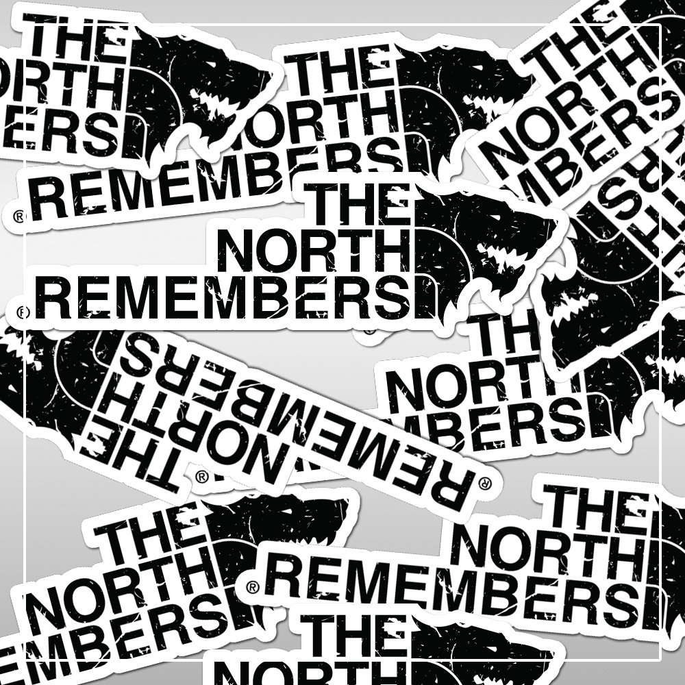 Group of The North Remembers stickers